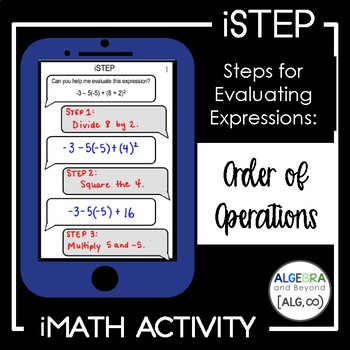 Order of Operations - iStep