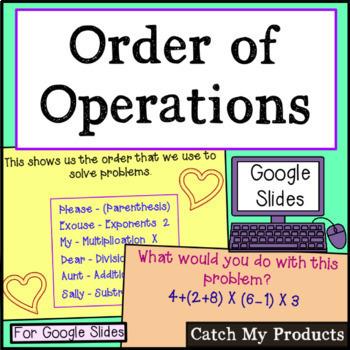 Order of Operations in Google Slides