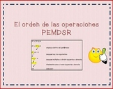 Order of Operations in Spanish