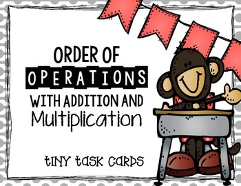 Order of Operations with Addition and Multiplication