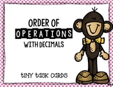 Order of Operations with Decimals