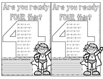 Order of Operations with Exit Ticket