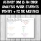Order of Operations with Integers - Error Analysis + Partner Pair Activity