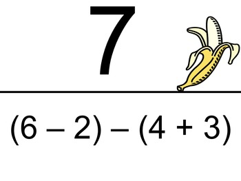 Order of Operations with Integers - Scavenger Hunt (Easier Problems)