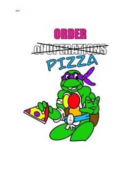 Order of Operations Coloring Book Math