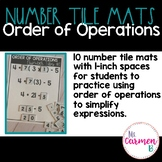 Order of Operations with Number Tiles