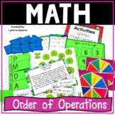 Order of Operations No Exponents