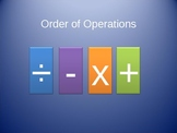 Order of Operations without exponents PowerPoint