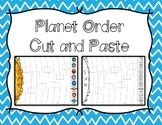 Order of The Planets Cut and Paste