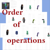 Order of operations for 3rd and 4th grades