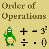 Order of operations for 5th and 6th grades