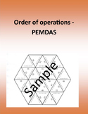Order of operations  - PEMDAS - Math puzzle