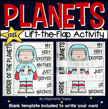 Order of the Planets Mnemonic Device