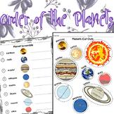 Order of the Planets / Orden de los Planetas [Eng. & Spa]