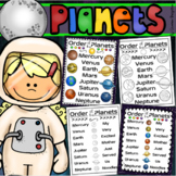 Order of the Planets Posters Handouts Printables Signs Outer Space Solar System