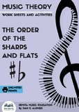 Order of the Sharps and Flats Worksheets