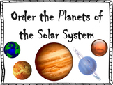 Order the Planets in Our Solar System