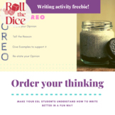Order your Thinking - FREE Writing Activity | Distance Learning