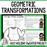 Geometric Transformations Christmas Math Project