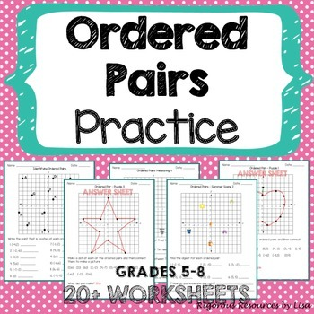 Ordered Pairs Practice