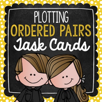 Ordered Pairs Task Cards