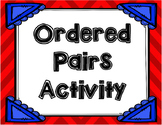 Ordered Pairs Activities
