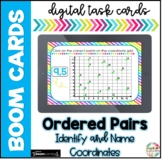 Ordered Pairs| Boom Cards |Distance Learning