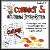 Ordered Pairs – Coordinate Plane Game