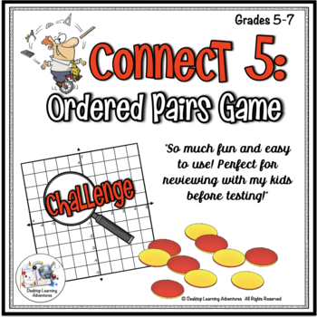 Ordered Pairs Coordinate Plane Game
