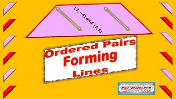 Ordered Pairs Forming Lines