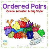 Ordered Pairs  Ocean, Monster & Bug Style