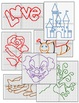 Ordered Pairs Mystery Picture Puzzles Bundle (All Quadrants)
