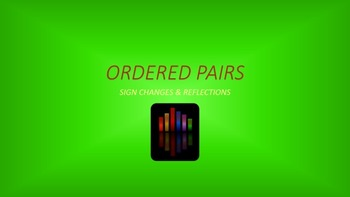 Ordered Pairs: Sign Changes & Reflections