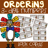 Ordering 3-Digit Numbers Task Cards