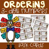 Ordering 3-Digit Numbers Task Cards