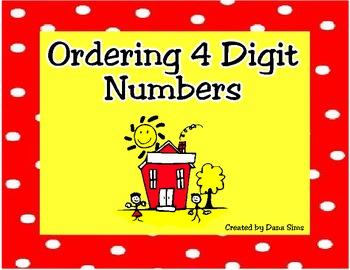 Ordering 4 Digit Numbers
