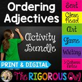 Ordering Adjectives Activities