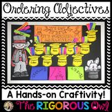Ordering Adjectives Craftivity