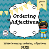 Ordering Adjectives Game/Sort Pack