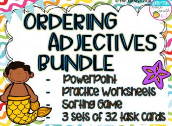 Ordering Adjectives Mega Bundle