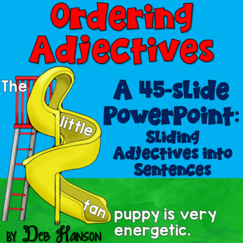 Teach your students how to correctly order multiple adjectives in a sentence with this PowerPoint. Students will learn the rules for ordering adjectives.