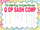 Ordering Adjectives PowerPoint and Task Cards - Set of 32 Bundle