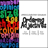 Ordering Adjectives: Practice Identifying Types of Adjectives