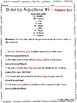 Ordering Adjectives Practice Worksheets - Set of 5 Common