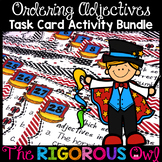 Ordering Adjectives Task Card Activity Bundle