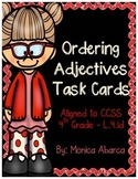 Ordering Adjectives Task Cards (L.4.1d)