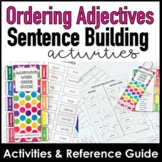 Ordering Adjectives - Word Order Guide & Activity