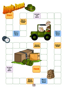 Ordering Adjectivies Task Cards - 95 Jungle Themed Differentiated Cards!!!