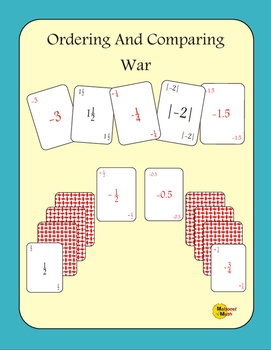 Ordering And Comparing Card Game