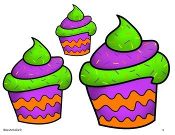 Ordering: Big, Medium, Small or Matching Game - Halloween
